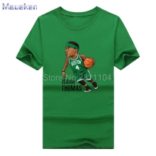 2017 Boston MVP #4 Isaiah Thomas Cool funny T-shirt 100% cotton NEW S-3XL T shirt 0425-7