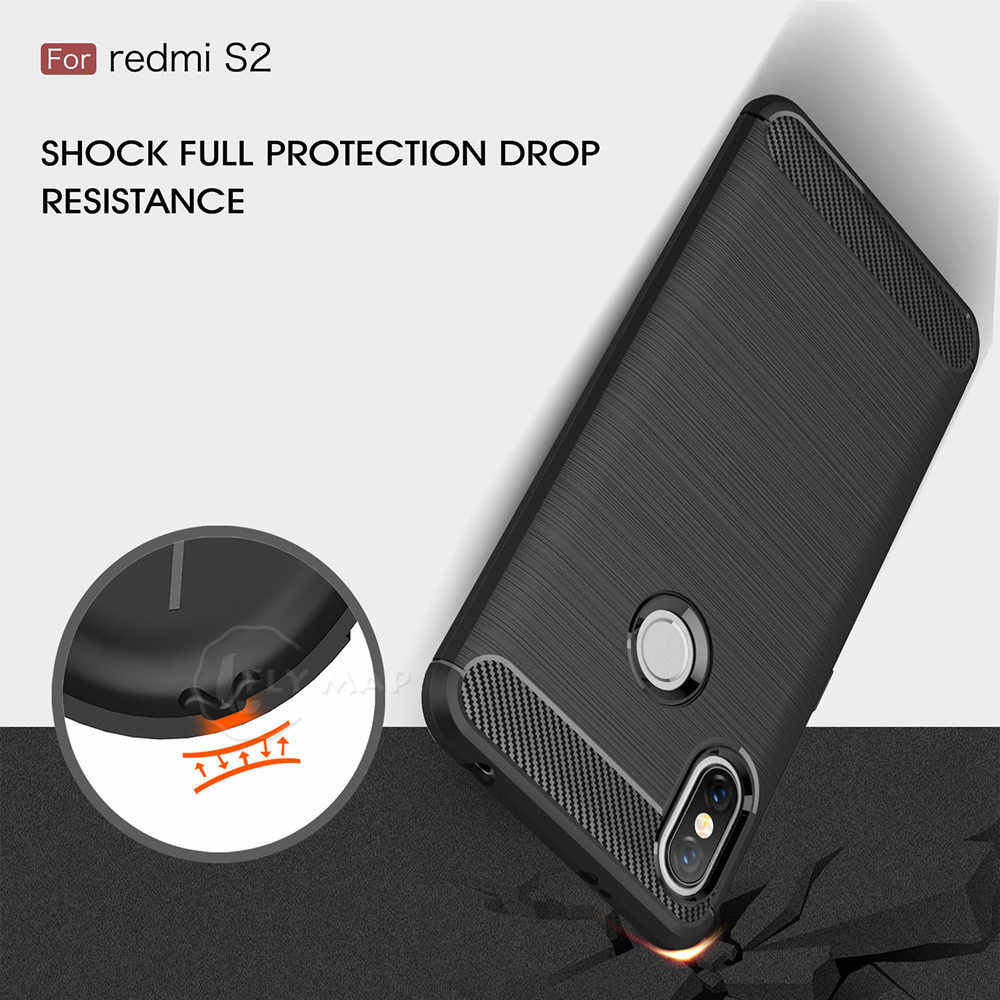 d51f707301 TPU Case for Xiaomi Redmi S2 2S 2 S Fibre Soft Silicone Phone Cover Coque  Capa for Xiao mi Red Y2 2Y y redmiy2 redmis2 M1803E6T