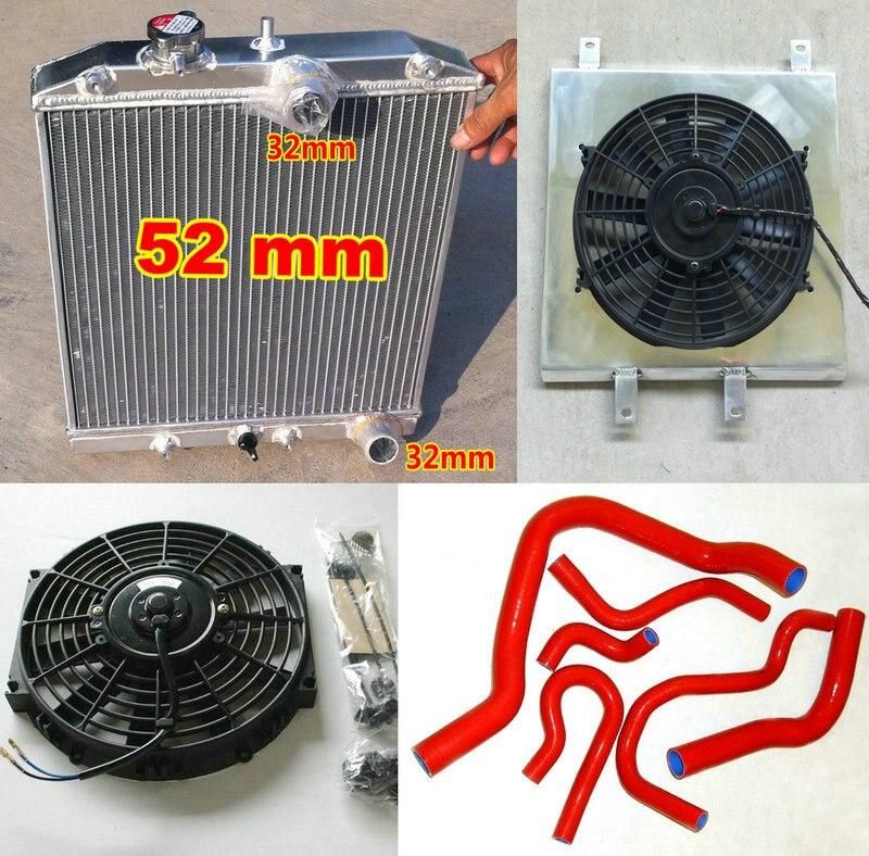 Aluminum Radiator For 1988-1994 Suzuki Swift GTI 1.3L 1989 1990 1991 1992 1993