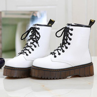 Women Knight Boots fashion old Martin shoe motorcycle ankle s boots women classic round toe shoes outdoor classic ladies boots