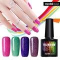 Modelones 1Pcs 10ml Colorful Neon Nail Gel UV Gel Soak Off UV Color Gel Nail Polish Color Nail Art
