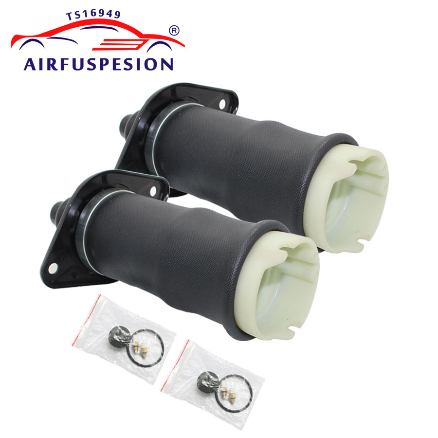 1 Pair Air Suspension Shock Absorber Rear for Audi A6 4B C5 Allroad Quattro 4BH C5 4Z7616051A 4Z7616052A rear right air spring bag air suspension repair for audi a6 c5 4b allroad quattro 4z7616052a 4z 7 616 052a auto parts