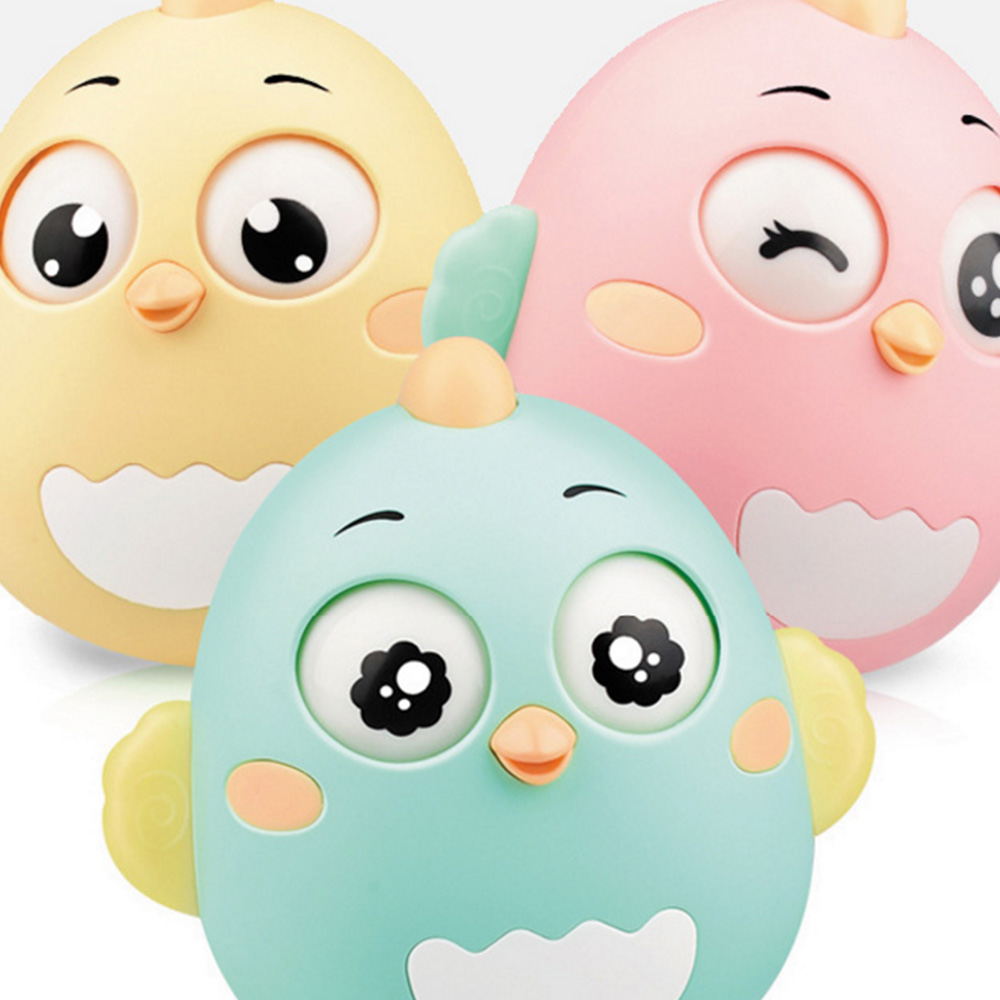 Cute Newborn Baby Creative Tumbler Cute Doll Toy Teether Bell Rattles Educational Toys