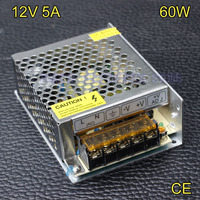 High Quality 12V 5A 60W Switching Power Supply Driver For LED Strip Power Adapter LED Display