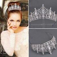 New art form alloy insert great little head decorated bridal tiara wedding crown bridal hair accessories