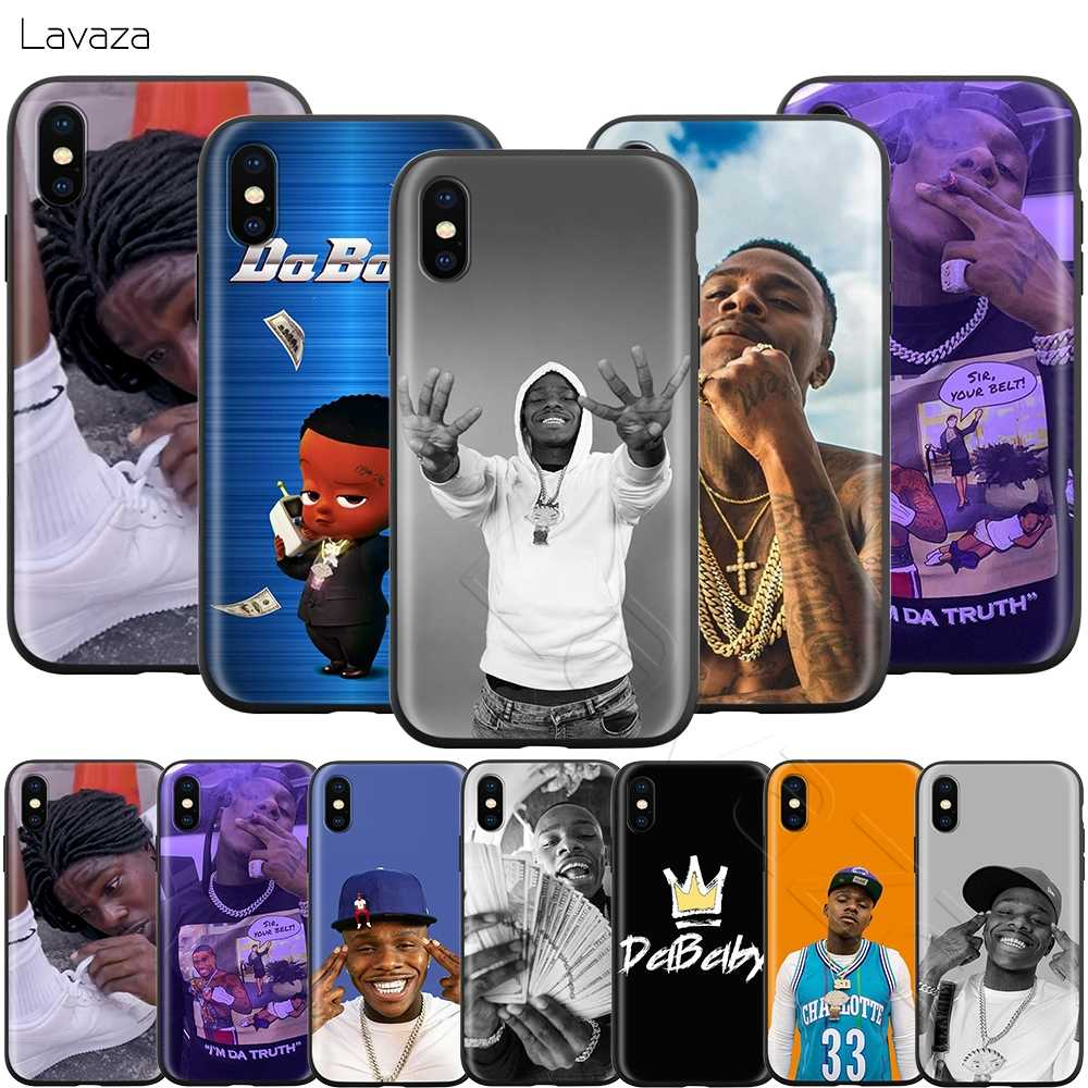 Lavaza DaBaby Rapper Case voor iPhone 11 Pro XS Max XR X 8 7 6 6S Plus 5 5s se