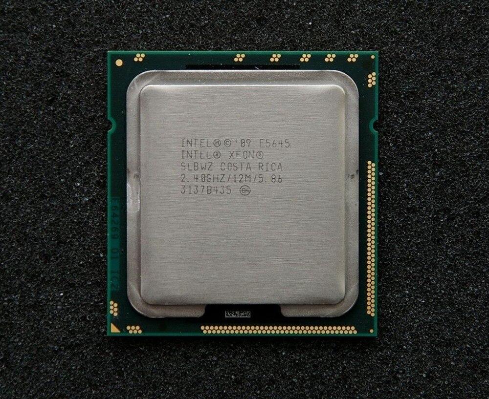 Prix pour Intel xeon e5645 processeur six core 2.40 ghz 12 m 5.86gt/s lga 1366 slbwz cpu