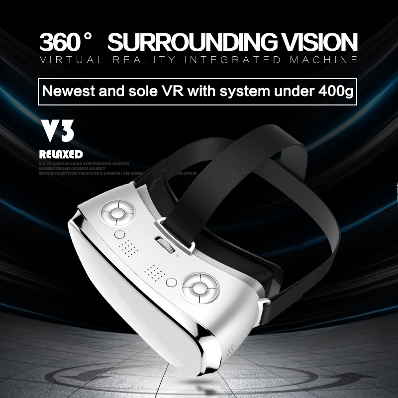 VR Alle In Een Bril RK3288 Quad core 2g RAM 16g ROM 5.5 inch FHD 1080 p Display WIFI 3D Bril Virtual Reality Headset VR - 5