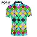 Bright-colored forudesigns alta qualidade roupas polo camisa para homens moda spandex quick dry polo de manga curta casuais masculino camisa