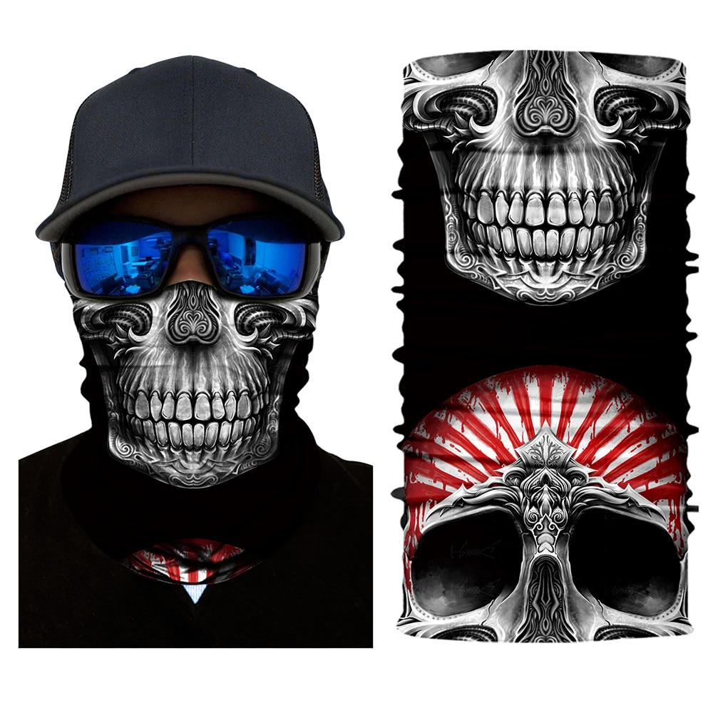 Мотоциклетная крутая маска «Череп» шарф лыжный сноуборд велосипед мотоцикл лицо защитный шлем шеи Теплая уличная велосипедная маска