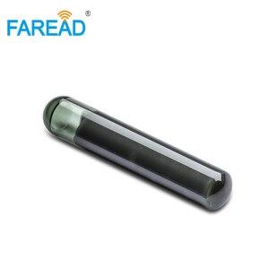 Image 4 - X10pcs 4*22mm ISO11784/5 EM4305 Bioglass RFID passivo tag Microchip per lidentificazione degli animali di vetro a bassa frequenza