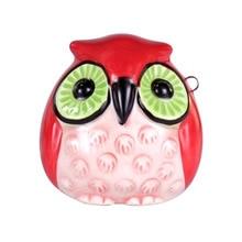 4 holes ocarina dolomite owl gift children exquisite and lovely shape