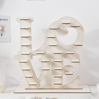 Love Wedding Decoration Heart Tree Ferrero Rocher Chocolate Stand Wooden Rustic Wedding Gift Display Stand Centrepiece Candy