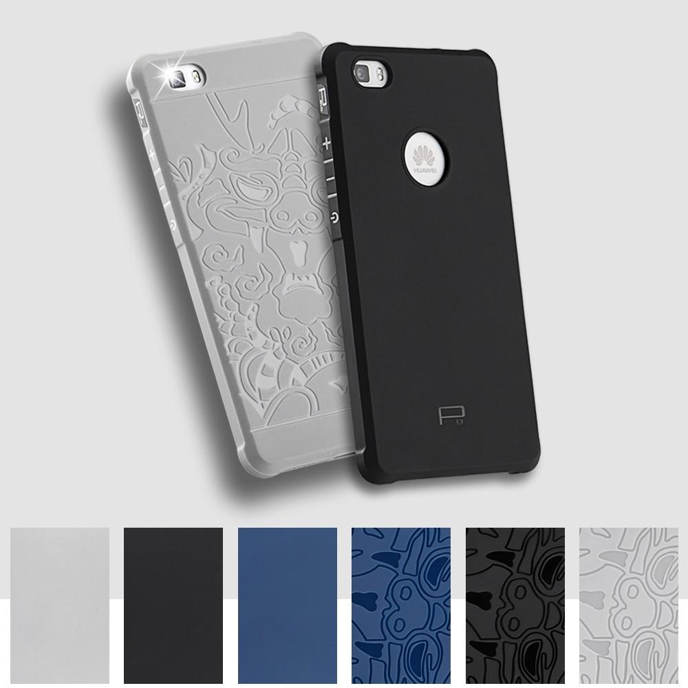 TPU Soft for Huawei P8 P 8 Lite Case ALE L21 L23 L02 3D Relief Phone Back Cover for Huawei P8Lite ALE-L21 ALE-L23 ALE-L02 Case