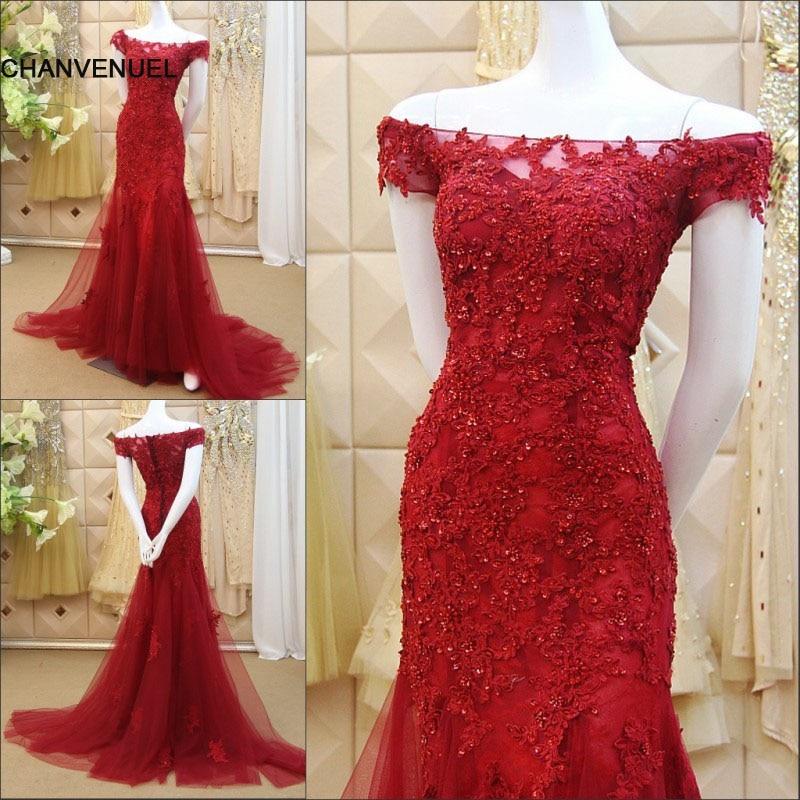 ls56870 mermaid evening dresses formal dresses vestidos de festa long-party-dress luxury mermaid long red evening dress
