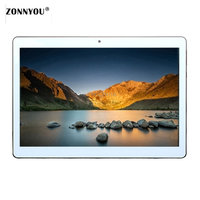 10 inch Tablet PC Octa Core 4GB RAM 32GB ROM 5.0MP Android7.0 GPS 1280*800 IPS Dual SIM Cards 3G WCDMA GPS Tablets PC