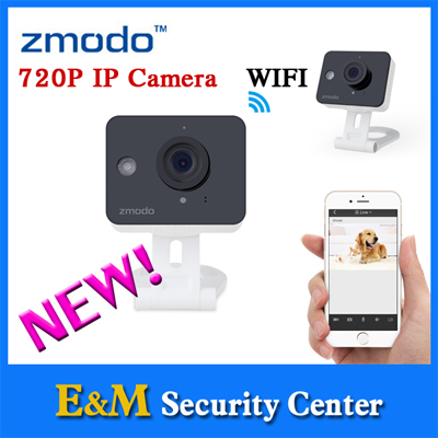 Zmodo 720P HD WiFi Mini Color Sensor Home Security IP Night