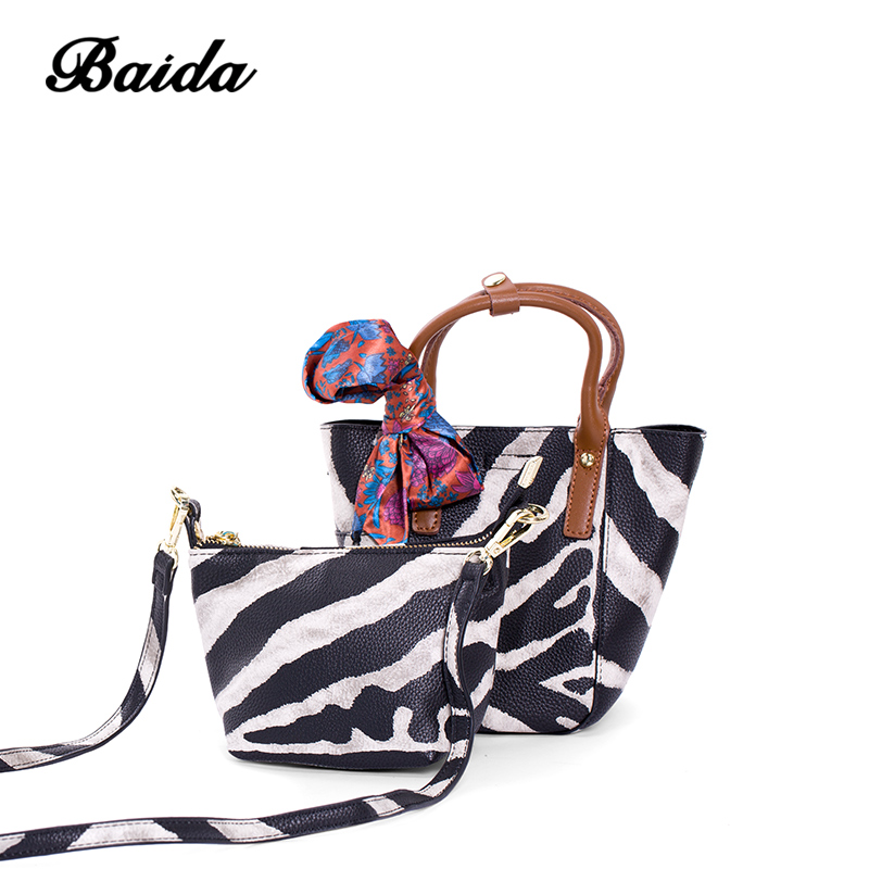 BAIDA brand design handbag women casual messenger bags female solid buket small shoulder crossbody bags chain clutch purse алексей валентинович попов смысл смерти