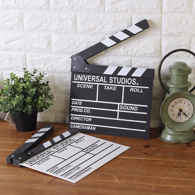 Creative Movie Wood Board Log Card Cut Photographed Props Wooden Crafts Statue Funny Vintage Diy Home