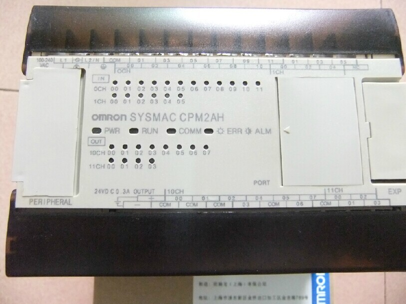 New and original CPM2A-40CDR-A OMRON Relay output PLC controller new and original cp1h xa40 dr a omron plc controller module