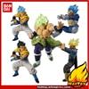 "100% Original Bandai Battle VS ของเล่น PVC รูปที่ 9 ชุด 5 PCS Broly Vegeta Trunks Gogeta ""Dragon Ball SUPER"""