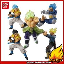 "Figurine Bandai Battle VS Gashapon en PVC, ensemble complet de 9 pièces, 5 pièces, Broly Vegeta tronc Gogeta ""Dragon Ball SUPER"", 100% Original"