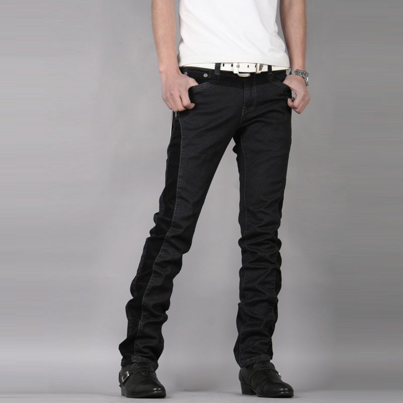 Popular Male Black Jeans-Buy Cheap Male Black Jeans lots from