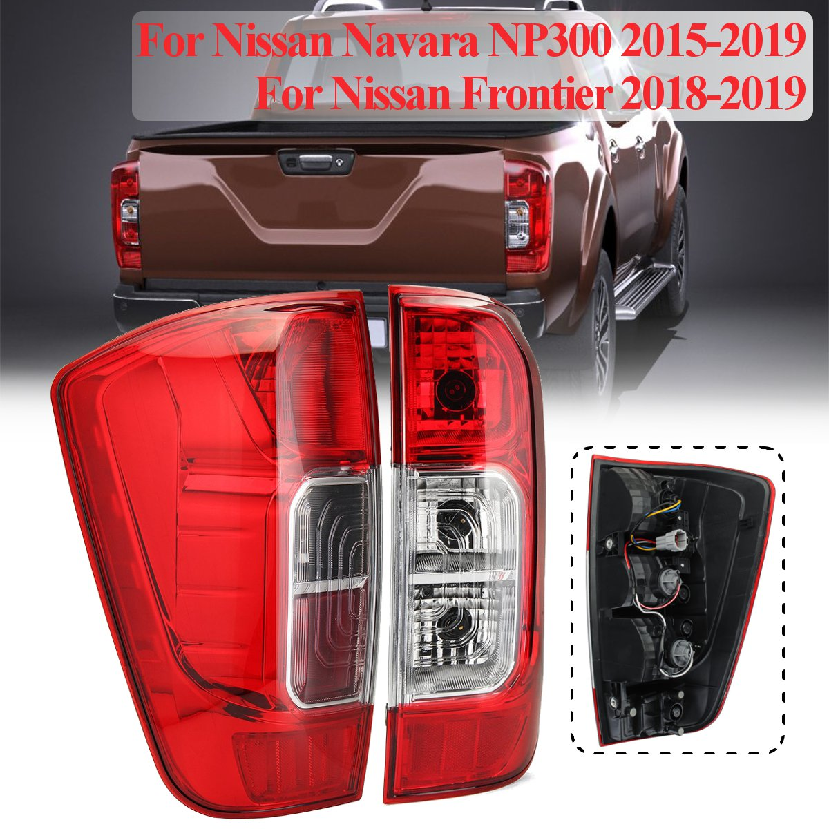 Rear Tail Light Lamp For Nissan Navara NP300 2015-2019 Frontier 2018-2019 Left