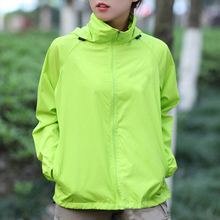 Lovers Sun Protection Skin Summer Jacket Women Men 2017 Spring Fashion Female Coats Women's Foldable Hooded Jackets,AM034