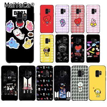 MaiYaCa KPOP BTS BT21 Signature Coque Shell Phone Case for Huawei P9 P10 Plus Mate9 10 Mate10 Lite P20 Pro Honor10 View10 bt21 rj phone case