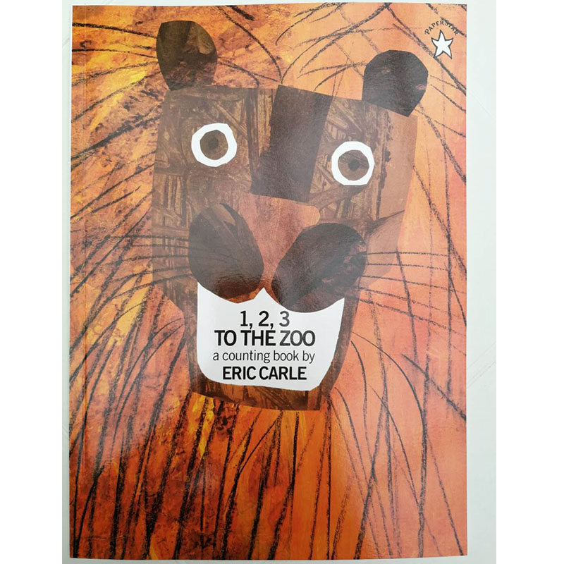 123 To The Zoo By Eric Carle Educational English Picture Book Learning Card Story Book For Baby Kids Children Gifts