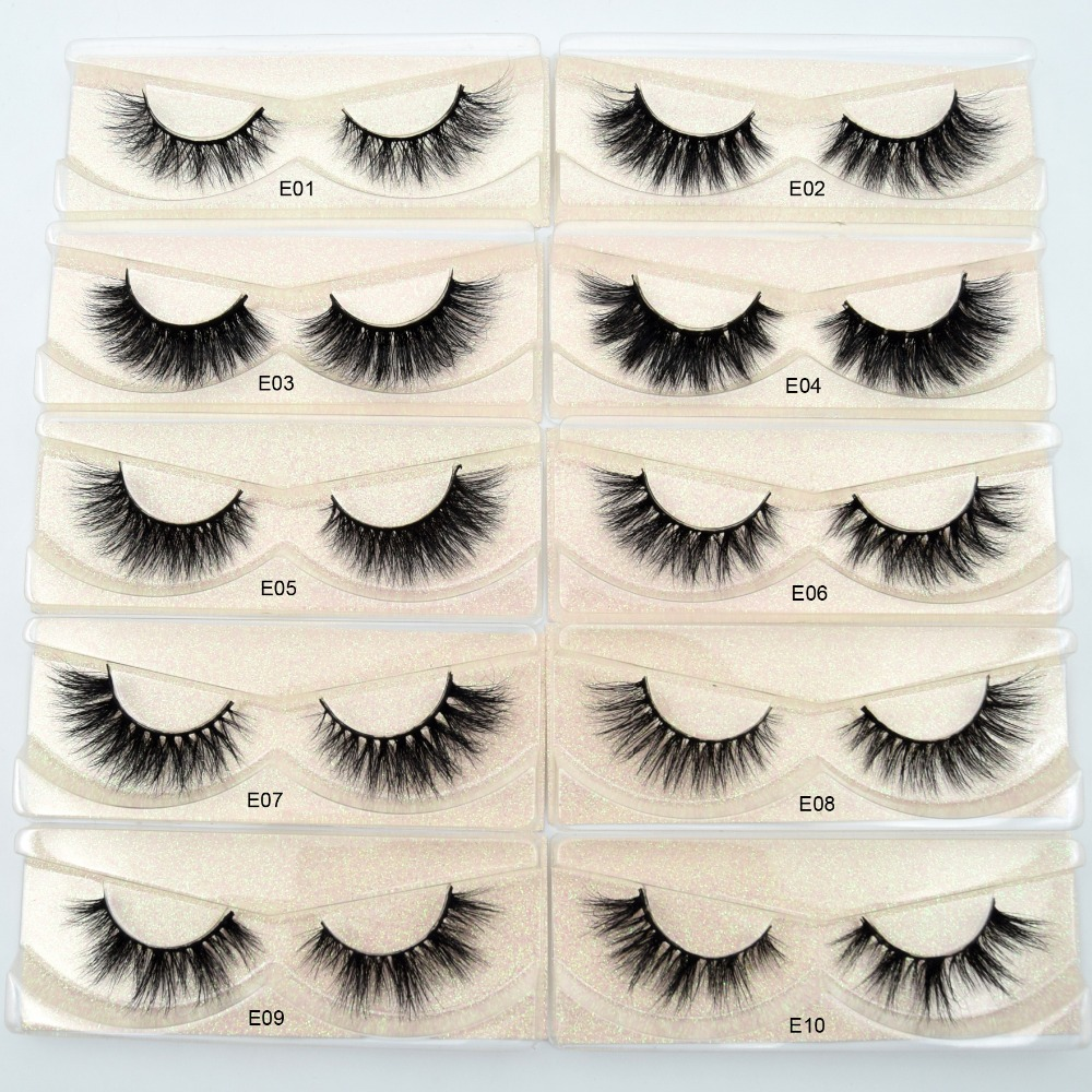 Image 3 - Free DHL 100pairs Visofree Eyelashes 3D Mink Lashes Handmade Mink Dramatic Lashes 68styles cruelty free reusable lashes wholsale-in False Eyelashes from Beauty & Health