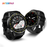 Interpad Smart Watch GPS Dual Camera Blood Pressure Smartwatch Heart Rate Monitor Sleep Tracker With Compass Smart watches