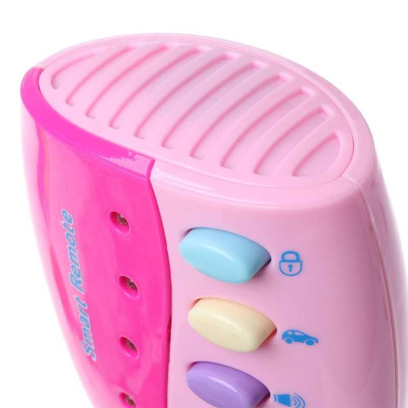 لعبة طفل الموسيقية مفتاح السيارة الصوتية الذكية عن بعد صوت السيارة التظاهر اللعب ألعاب تعليمية للأطفال طفل الموسيقى اللعب