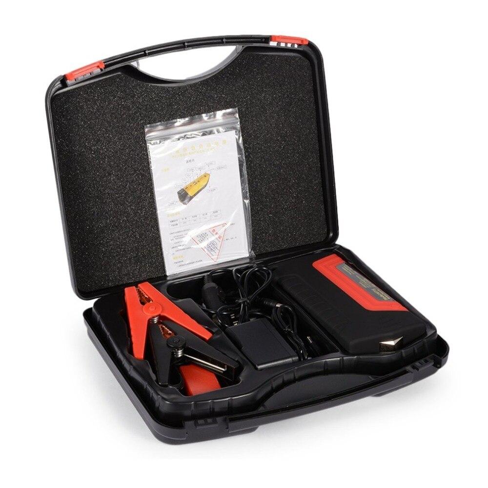 50800 Portable voiture saut démarreur batterie externe d'urgence Auto saut démarreur voiture saut Auto batterie Booster Pack véhicule saut démarreur
