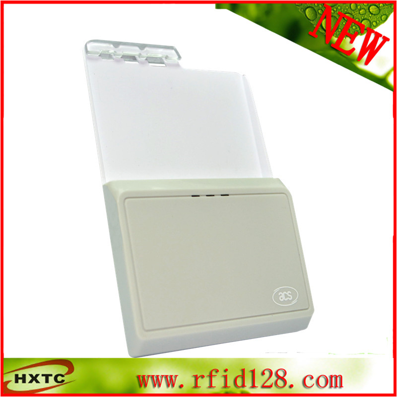 ISO7816 Contact Emv Bluetooth Android Portable Smart IC Chip Card Reader/Writer ACR3901U-S1