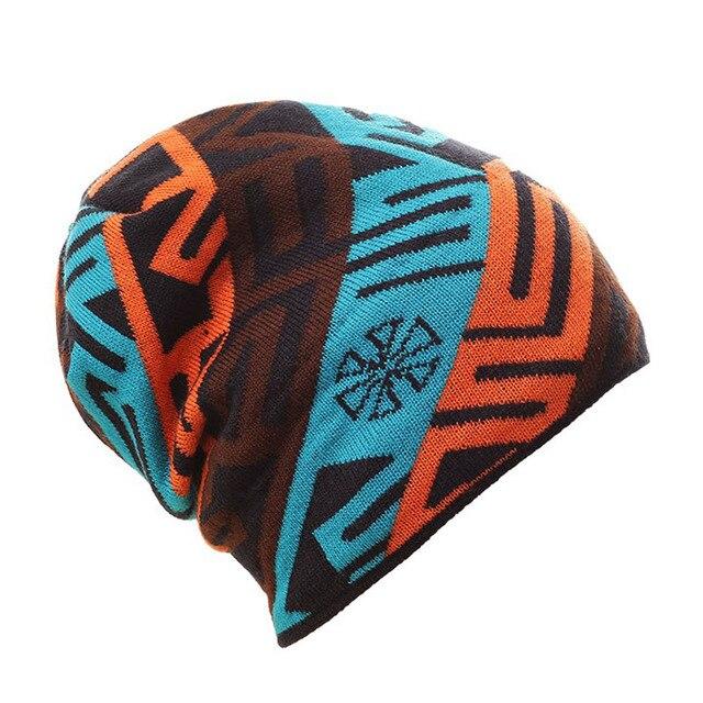 Unisex famosa marca di sci caldo inverno di lavoro a maglia cappello per  gli uomini e 3482d3be772c