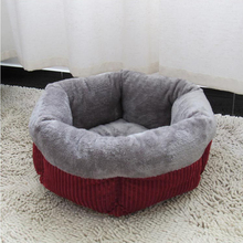 Dog Kennel Winter Warm Pets Cat Sleeping Pad Puppy Beds Fashion Soft Pet House Sofa Mats Pet Home Decoration Accessories ATY-032 soft dog beds winter warm print kennel pet mats puppy beds dog house outdoor pet products home decoration accessories atb 272