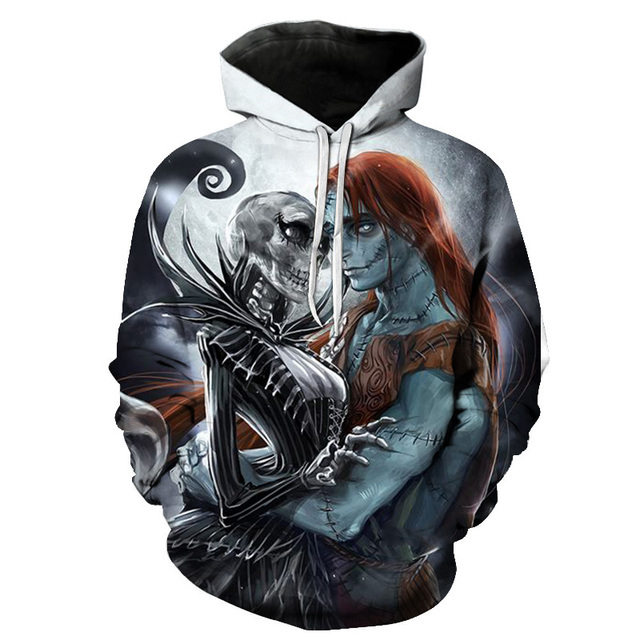 Hoodies Sweatshirts Men Women The Nightmare Before Christmas Jack