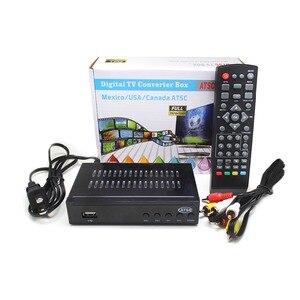 Image 5 - Vmade 2018 plus récent noir FULL HD numérique DVB ATSC F01 récepteur Satellite TV Tuner à recevoir MPEG4 Tuner décodeur lecteur multimédia