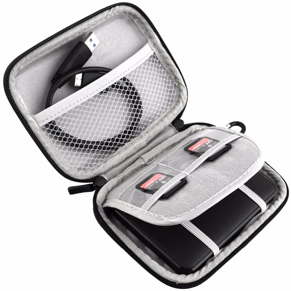 2.5 Shockproof կրող արտաքին կոշտ սկավառակի - Արտաքին պահեստավորման սարքեր - Լուսանկար 2