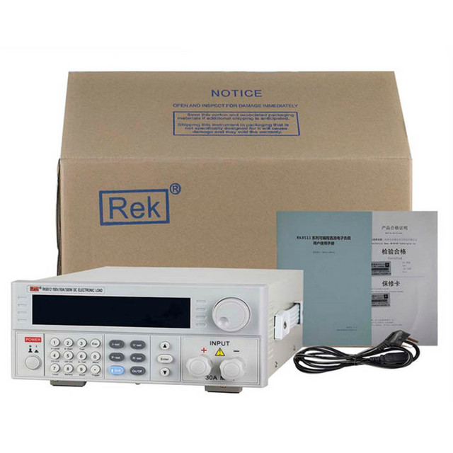Programmable Hi-accuracy DC Electronic Load 150V/30A/300W Power RK8512 110V/220V