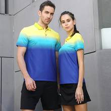 Badminton Tennis Uniform Sports Top Tennis T-shirt Men's And Women's Tops Haut De Tennis Parte Superior De Tenis(China)