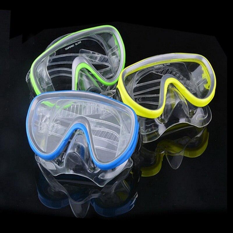 Professional Underwater Anti-fog Diving Mask Swimming Goggles Pool Equipment Snorkel Glasses Set 4 Colors!!