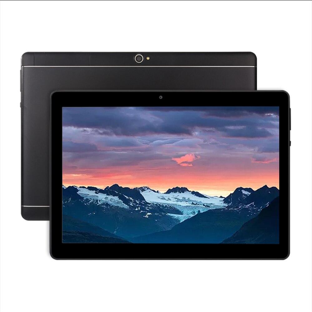Original nueva tableta Android PC 10 pulgadas Octa Core con Google Plya WiFi llamada de teléfono 3G añadir teclado de cuero caso de tabletas de oficina - 4