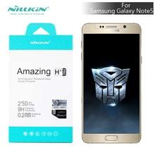 Nillkin 9 H + Pro 0.2 mm Ultra – mince en verre trempé Film pour samsung galaxy note5 n920 protecteur d'écran 2.5d arc – bord