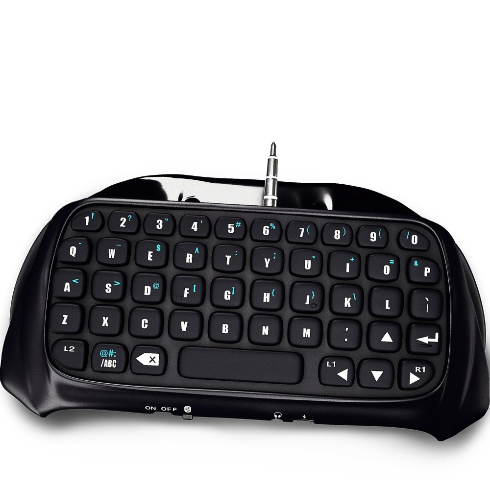 Mini BTV Wireless Keyboard KeyPad For PS4 PlayStation 4 Accessory Controller Bluetooth Wireless black Keyboard Connection