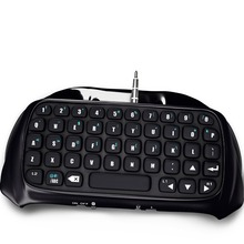 Mini BTV Wireless Keyboard KeyPad For PS4 PlayStation 4 Accessory Controller  Bluetooth Wireless black Keyboard Connection panel