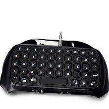 Mini BTV Drahtlose Tastatur Tastatur Für PS4 PlayStation 4 Zubehör Controller Bluetooth Wireless schwarz Tastatur Verbindung panel