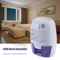 Dehumidifier Moisture Absorber Mini Air Dehumidifier with 500ML Water Tank Air Dryer for Home Kitchen Bedroom air dehumidifier portable dehumidifier dehumidifier moisture absorbing -